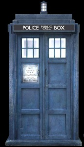 Tardis in the Wine Room